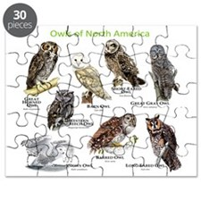 Owls of North America Puzzle