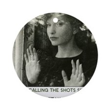 Maya Deren 8x10_apparel_MD Round Ornament