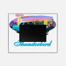 Thunderbird Diner Blue copy Picture Frame