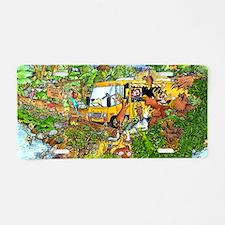 NatureTrailNew2JPG Aluminum License Plate