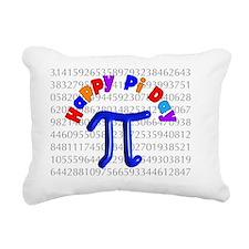 Happy Pi Day Rectangular Canvas Pillow