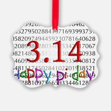 Happy Pi Day numbers 2012 Ornament