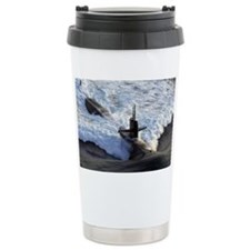 langelesssn framed panel print Travel Mug