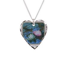 Water Lily Art I Necklace