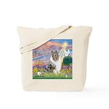 T-CloudAngel-CollieBrook Tote Bag