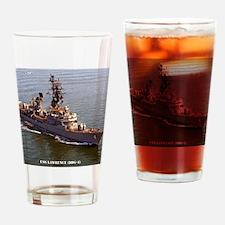 lawrence framed panel print Drinking Glass