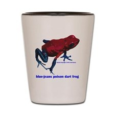 Oophaga pumilio sippy cup Shot Glass