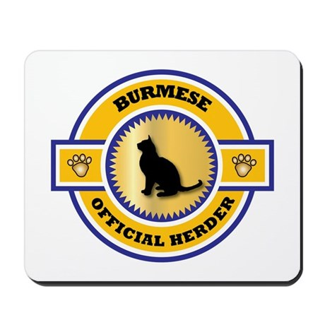 Burmese Herder Mousepad
