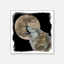 "howl 8x8 - frame Square Sticker 3"" x 3"""