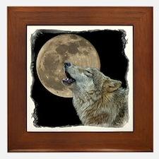 howl 8x8 - frame Framed Tile