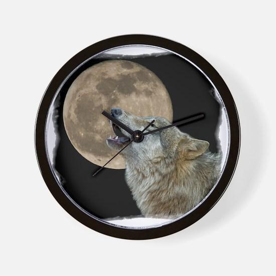howl 8x8 - frame Wall Clock