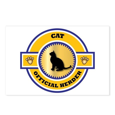 Cat Herder Postcards (Package of 8)