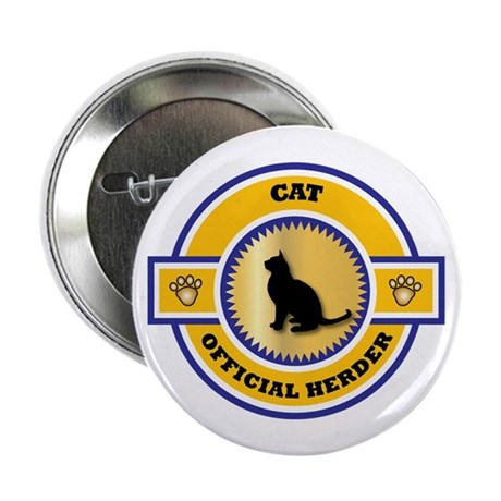 """Cat Herder 2.25"""" Button (100 pack)"""