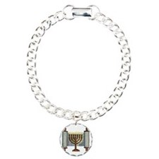 Torah Menorah Bracelet