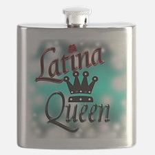Latina Queen Flask