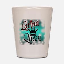 Latina Queen Shot Glass