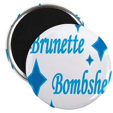 Brunette Bombshell Magnet