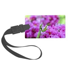 Puzzle Preying Mantis Luggage Tag