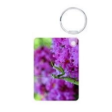Greeting Card Pink Preying Keychains