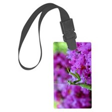 Greeting Card Pink Preying Manti Luggage Tag