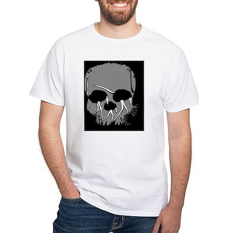 jungle-cat-sk-OV White T-Shirt