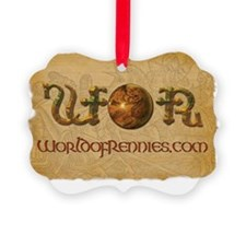 WOR Banner Ornament