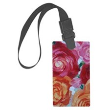Rose Art Luggage Tag