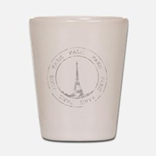 VintageFrance8Bk Shot Glass