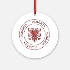 albania9 Round Ornament
