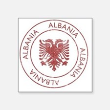 "albania9 Square Sticker 3"" x 3"""