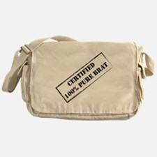 Certified Brat Messenger Bag