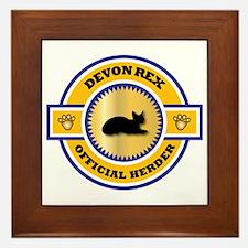 Devon Herder Framed Tile