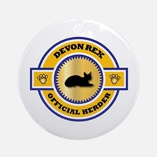 Devon Herder Ornament (Round)