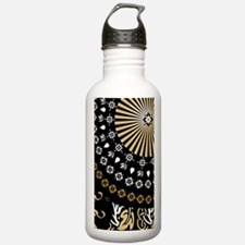 Global Art Black Water Bottle