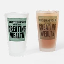 feb12_creating_wealth Drinking Glass
