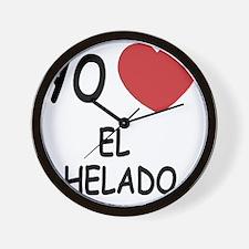 EL_HELADO Wall Clock