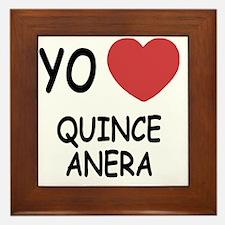 QUINCEANERA Framed Tile
