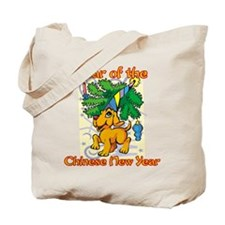 Chinese New Year Year of the Dog Tote Bag