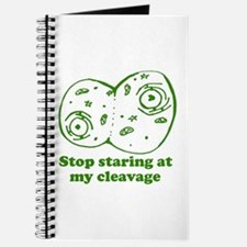 Stop Staring at my Cleavage Journal