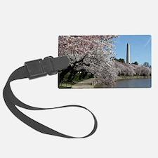 Peal bloom cherry blossom frames Luggage Tag