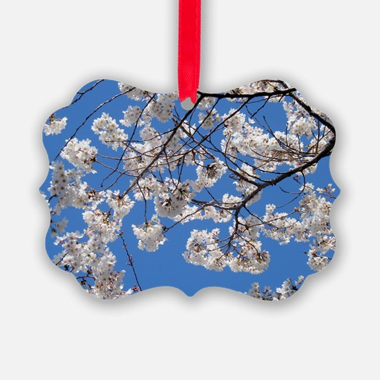 Cherry Blossom Peak Bloom Washing Ornament
