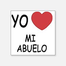 """MI_ABUELO Square Sticker 3"""" x 3"""""""