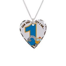 Digger1stBirthday Necklace Heart Charm