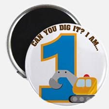 Digger1stBirthday Magnet