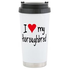 iheartthoroughbred Travel Mug