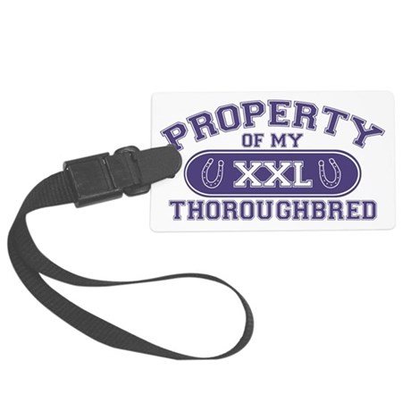 thoroughbredproperty Large Luggage Tag