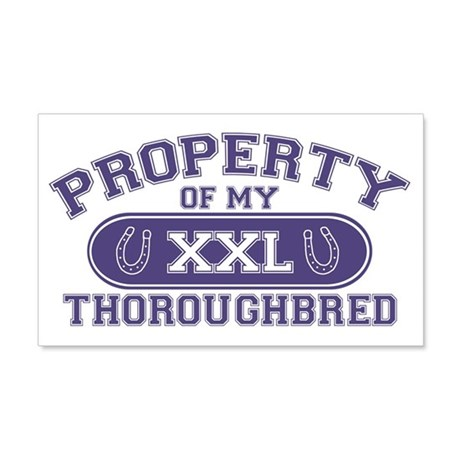 thoroughbredproperty 20x12 Wall Decal