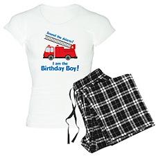 FiretruckBirthdayBoy Pajamas