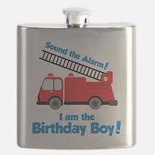 FiretruckBirthdayBoy Flask
