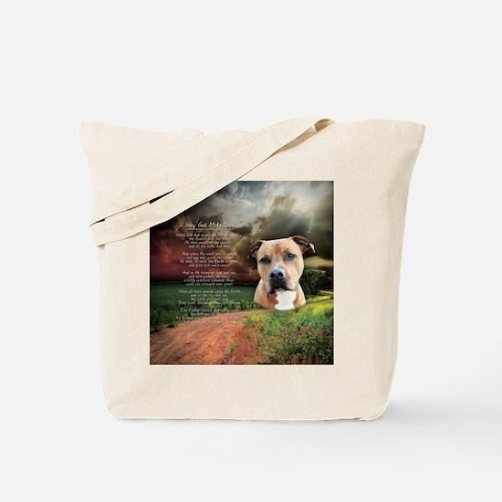 godmadedogs(button) Tote Bag